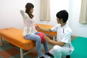 姿勢を整える運動療法